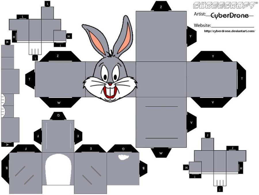 Cubee___Bugs_Bunny_by_CyberDrone