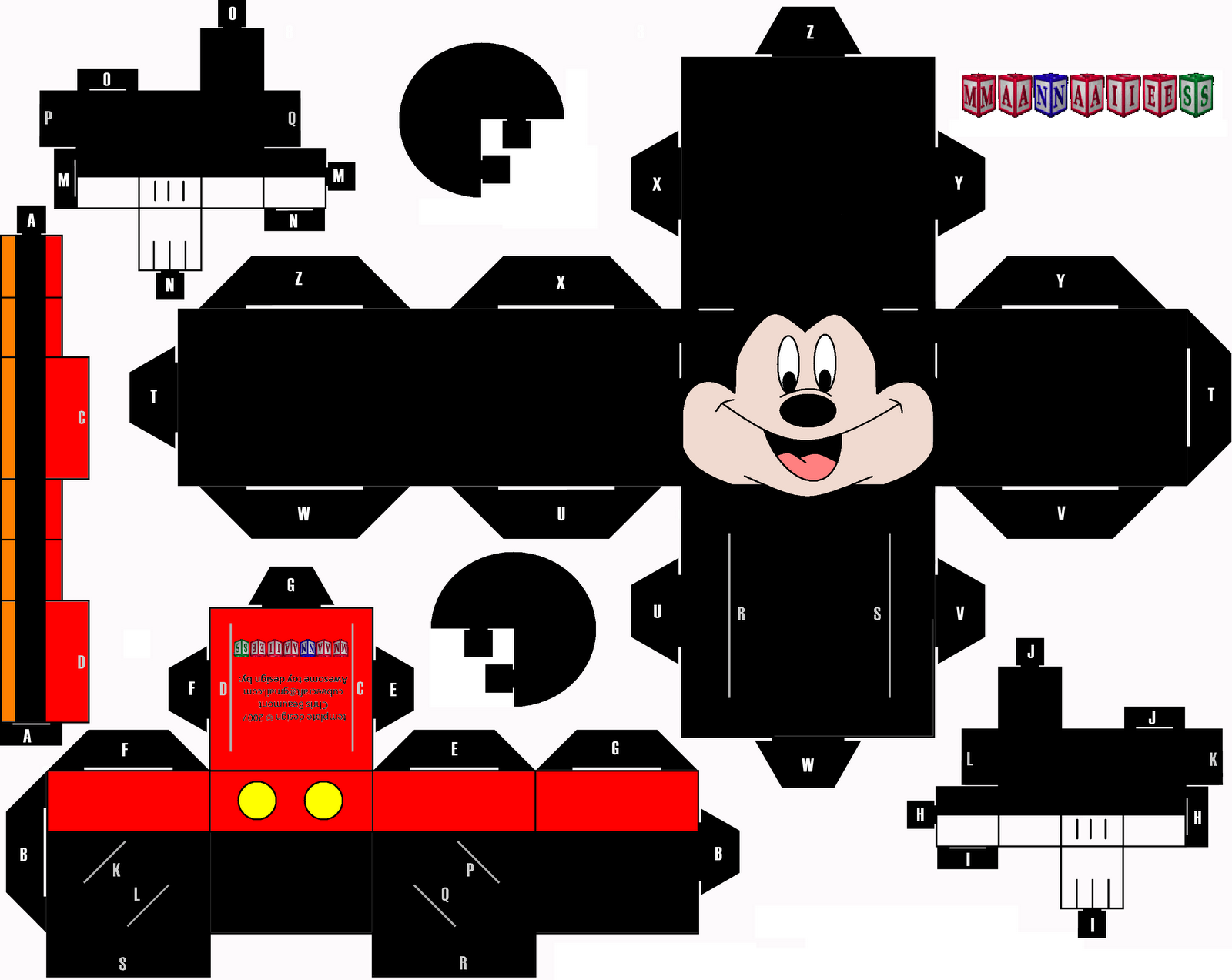 Cubeecraft_Mickey_Mouse_by_Manaies
