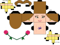 cubeecraft_of_belle_from_beauty_and_the_beast